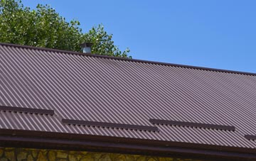 typical Pierowall corrugated roof uses